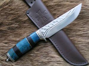 "Custom Elmax steel tactical hunter survival handmade knife ""Jay"""