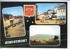CP 88 Vosges - Remiremont - Multivues couleurs - Blason