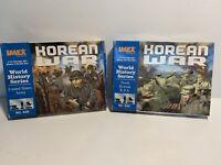IMEX MODELS 1/72 Korean War  World History Korean Troops and U.S. Troops