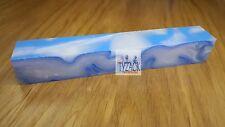 Tyzack White Haze with Light Blue Line Acrylic Pen Blank H8-BL