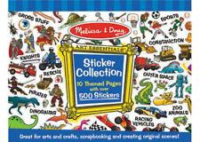 Melissa & Doug Boys Blue 500 Sticker Collection MND4246