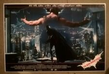 THE DARK KNIGHT RISES  .WINDOW CARD    --ORIGINAL ASIAN   CINEMA   POSTER
