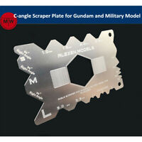 C-angle Scraper Plate Tool for Gundam and Armor Assembly Model Hobby Kits