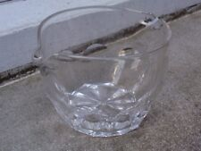 ANTIQUE 19TH C CRYSTAL WINE DRINKS GLASS RINSER BOWL