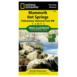National Geographic Mammoth Hot Sprngs-Ylwstn #303