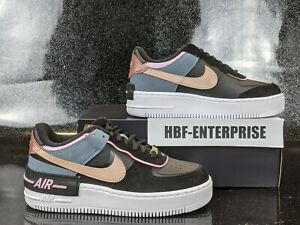 Nike Air Force 1 Shadow Black / Arctic Pink Women's Sizes NIB