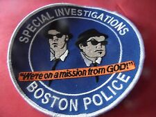 Boston Mass. Police patch  Special Investigations Unit novelty