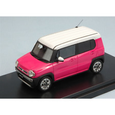 SUZUKI HUSTLER X TURBO 2014 PINK/WHITE 1:43 Hi Story Model Cars Auto Stradali