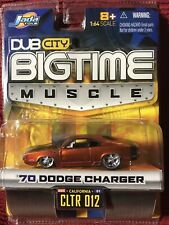 Jada Toys Bigtime Muscle Car ~ '70 Dodge Charger - 1:64 Diecast MOC