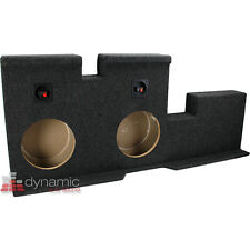 "Atrend A602-10CP Dual 10"" Sub Enclosure for 07-Up Toyota Tundra Crew Cab Trucks"
