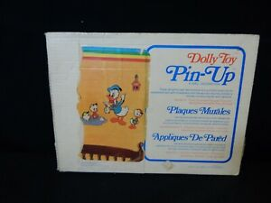 VINTAGE DOLLY TOY DONALD DUCK PIN-UP WALL DECORATION