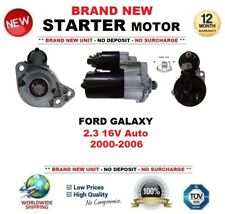 FOR FORD GALAXY 2.3 16V Auto 2000-2006 STARTER MOTOR 1.1kW 9-Teeth BRAND NEW