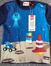 Lego Wear Size Age 3 Years Boys Long sleeve Top T-Shirt Lego Duplo Moon Space