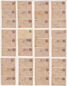 GB QEII Pre Decimal Slogan Postmarks etc on Covers x 36