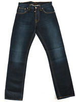 Nudie Herren Regular Straight Fit Jeans | Average Joe Double Dip Indigo
