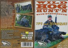 Wild Hog Hunting with Byron South Tips and Techniques DVD NEW
