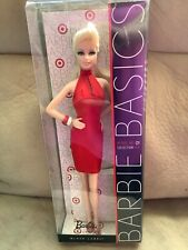 Barbie Basics Red Collection Model Muse body Blonde model #1 NRFB
