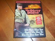 THE DIRTY DOZEN World War II Classic Original Movie + TV Sequel Film DVD NEW