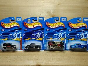 Hot Wheels Die Cast Car Lot Mattel Wheels #056 204 221 239 Ford Delivery Coupe