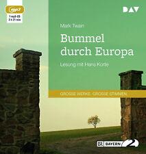 Bummel durch Europa von Mark Twain (31.08.2018, MP3-CD)