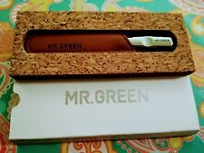 MR.GREEN stainless steel metal nail file buffer professional shaper  manicure