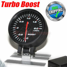 60mm 12V CAR Gauge BLUE Light STEPPER MOTOR 270 Degree Scale Meter TURBO BOOST