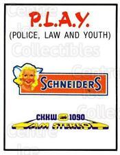 1984-85 Kitchener Rangers #26 Sponsor Card