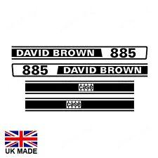 DECAL SET FITS DAVID BROWN 885 TRACTORS.