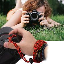 Wrist Strap Lanyard Camera Hand Grip Rope Anti-lost DSLR SLR Camera Strap SD