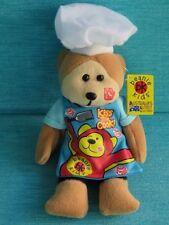 BEANIE KIDS - BURNIE THE BBQ DAD BEAR BK 822 FATHER GIFT SOFT MWMT PLUSH SKANSEN