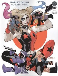 HARLEY QUINN AND THE BIRDS OF PREY #4 COVER B TERRY DODSON VARIANT VF/NM DC HOHC