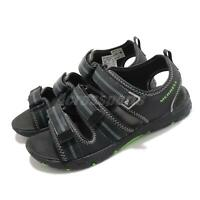 Merrell M-Hydro Creek Black Grey Green Kid Preschool Sandals Shoes MK262554