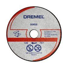 Dremel Metal Max Cut-off Saw Wheel Dsm510 77mm 3pcs Abrasive 60 Grit *usa BRAND