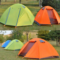 2 Tier 2 Person Waterproof Auto Camping Tent Quick Setup Shelter TieHike Outdoor