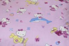 Baumwollstoff süße Katzen Kinder auf rosa ab 50cm Länge, 2,20m bre