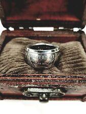 GENUINE U.S. MORGAN DOLLAR Silver Coin Ring ~ 90% Silver Handmade Sizes 7.5 - 14