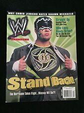 THE HURRICANE GREGORY HELMS SIGNED WWE MAGAZINE