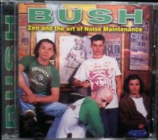 Zen and the Art of Noise Maintenance by Bush (CD, 1995) very rare live recording