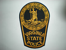VIRGNIA STATE POLICE PATCH