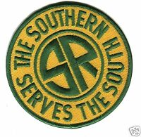 RAILROAD PATCH - Southern Railway 4 ""