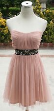 NWT InspireMe $80 Sand Prom Party Homecoming Dress 7