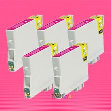 5P NON-OEM MAGENTA INK alternative for EPSON T044320 T0443 Stylus CX6400 CX6600