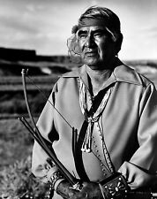 "Lee Marmon ""Laguna War Chief"" Hand Signed Original Photograph 1960"
