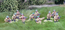 28mm WW2 Russian Soviet SMG  Squad(10 figures). Bolt Action Chain of Command