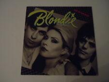Blondie – Eat To The Beat  - Chrysalis 1979  LP Vinyl