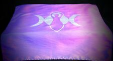 ALTAR CLOTH Triple Goddess & Moon Wicca Pagan Handmade