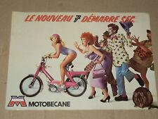Prospectus Cyclomoteur MOTOBECANE Le 7   brochure catalogue prospekt moto