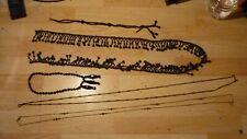 lot bijour ancien dragonne chatelaine chaine montre longue