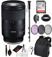 Tamron 28-75mm f/2.8 Di III RXD Lens for Sony E (A036) Essential Bundle Kit