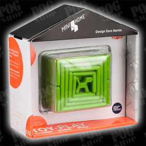 NEW Tactic BIG MINI HOME - Green - Eero Aarnio - Design Toy - 3D Puzzle Game